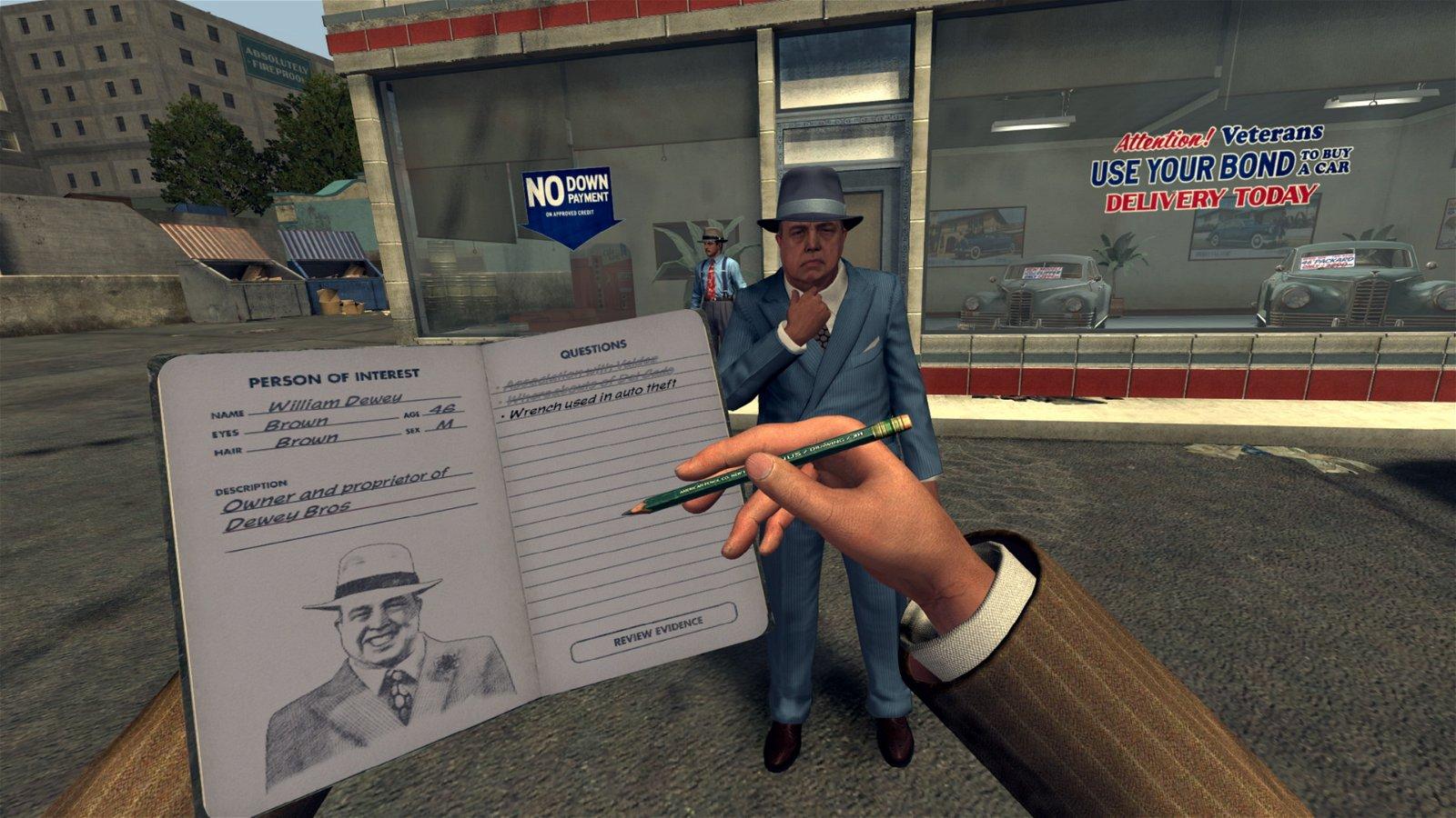 L.a. Noire: The Vr Case Files (Vive) Review