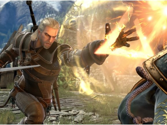 The Witcher's Geralt Coming to SoulCalibur VI