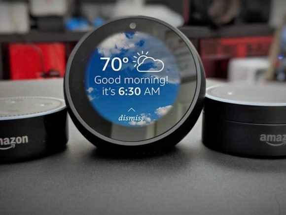 Amazon Echo Spot Now Available For Pre-order in Canada