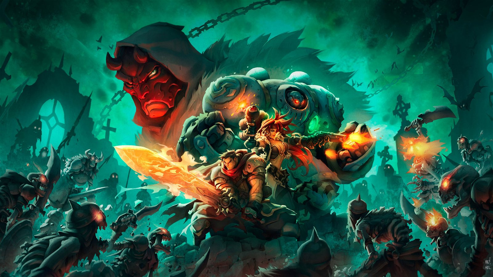 Battle Chasers: Nightwar Review 2