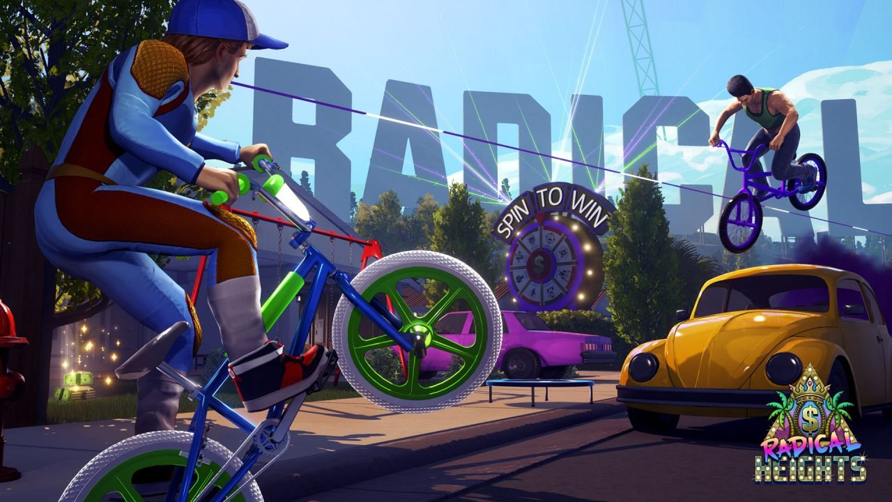 Boss Key Announces 80s-Inspired Battle Royale Shooter Radical Heights 1
