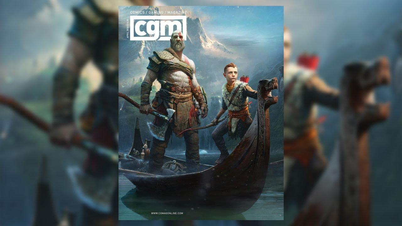 CGMagazine April 2018: God of War
