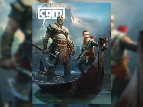CGMagazine April 2018: God of War