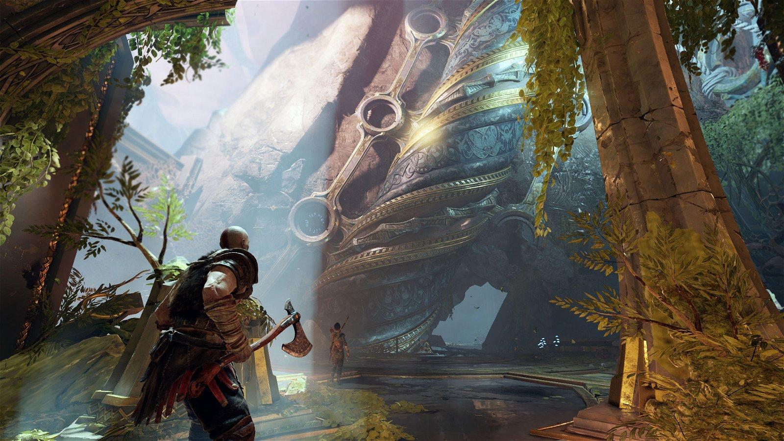 God of war review kratos is back - God of war wallpaper for ps4 ...