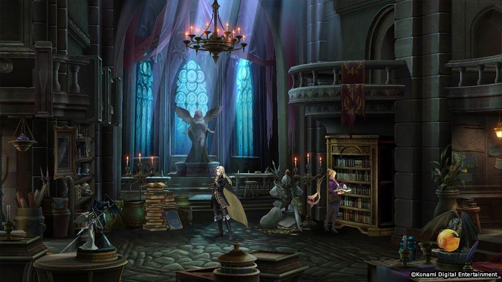 Konami Announces Castlevania: Grimoire Of Souls With Japanese Beta 3