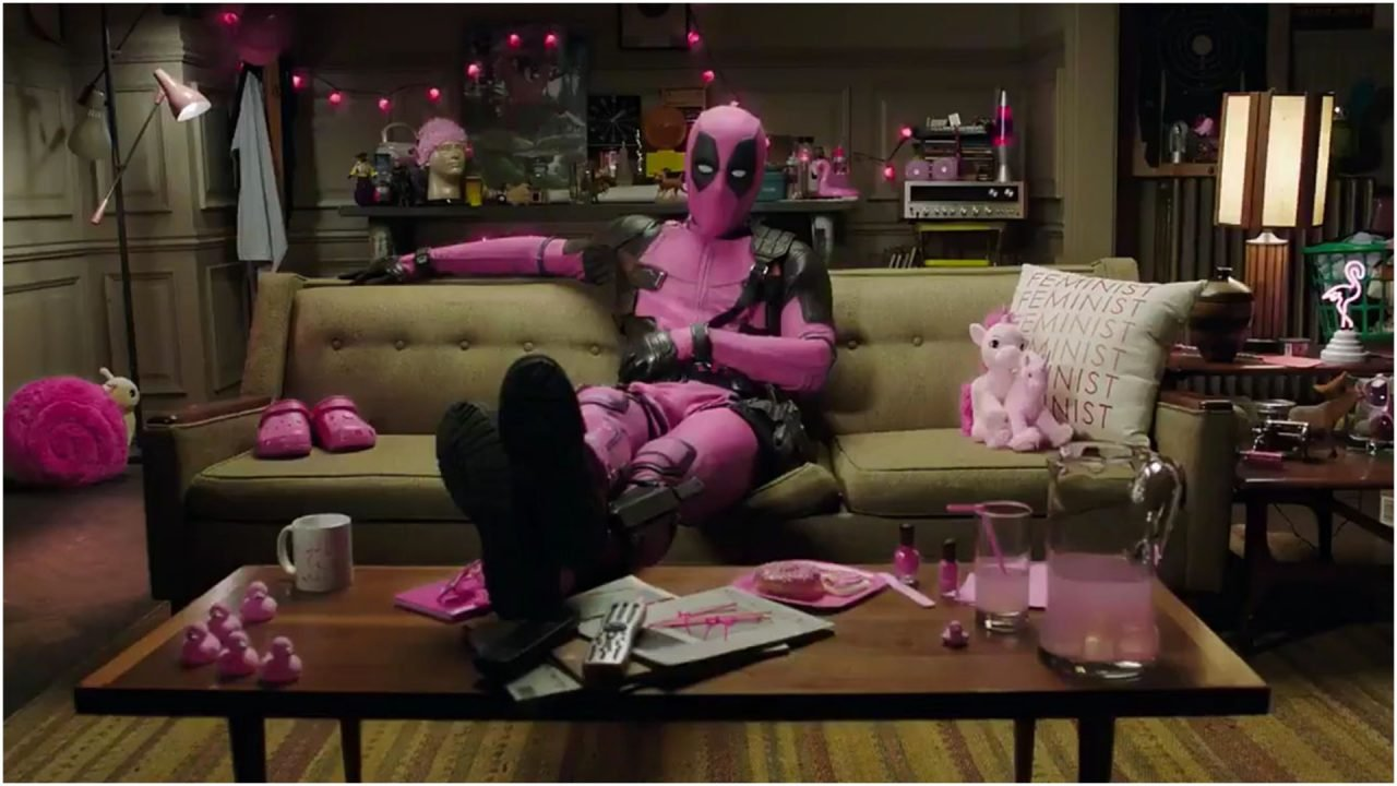 Ryan Reynolds Auctions off Pink Deadpool Suit