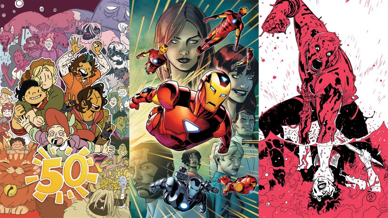 Best Comics to Buy This Week: Invincible Iron Man #600