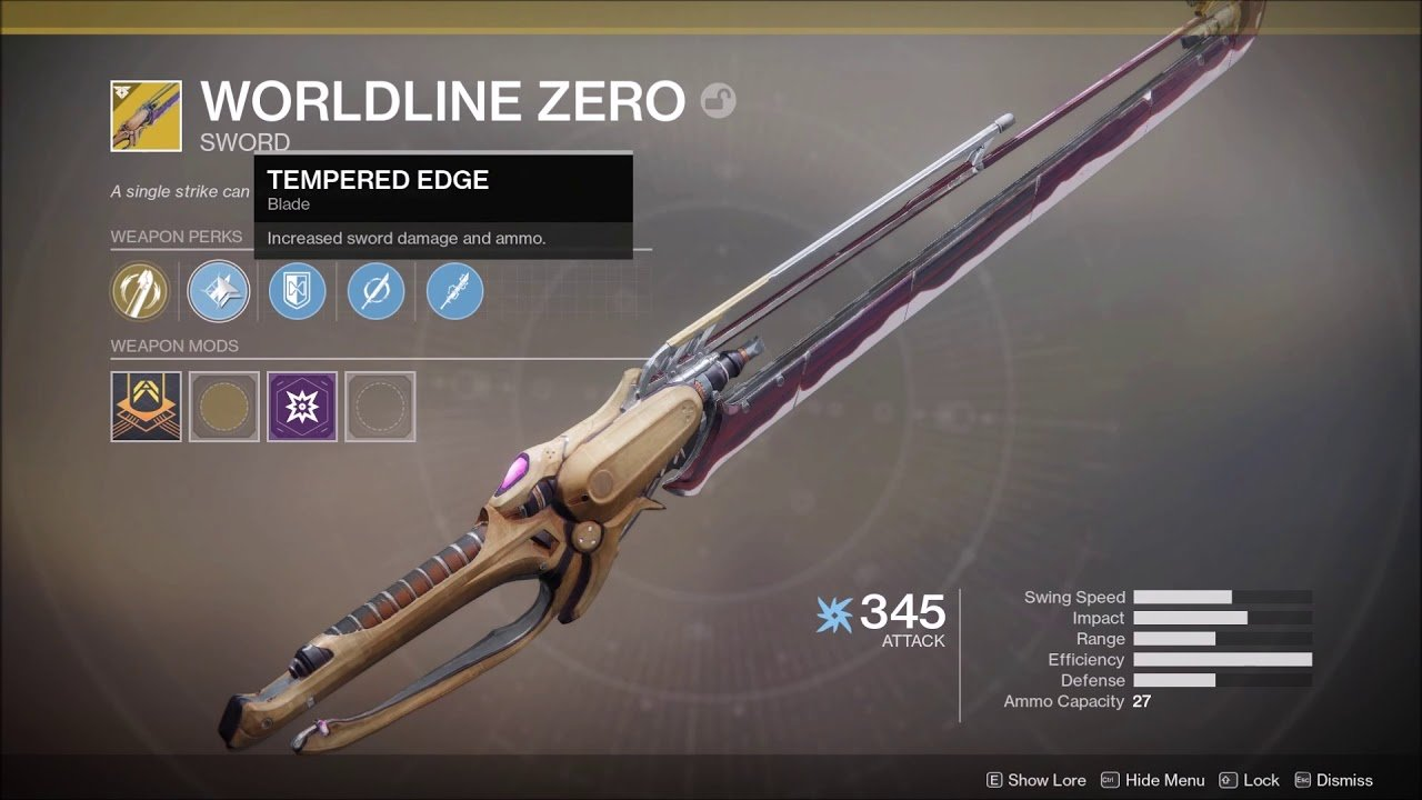 How to Easily get the Worldline Zero Exotic Sword in Destiny 2 Thanks to New Tracker 1