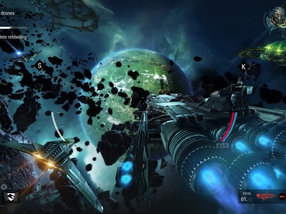 Manticore: Galaxy on Fire (Switch) Review 3