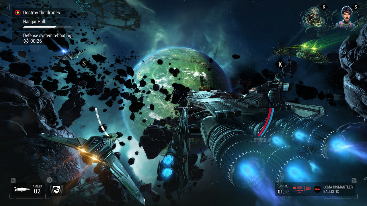 Manticore: Galaxy on Fire (Switch) Review 4