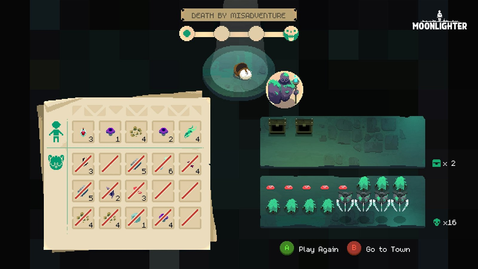 Moonlighter Review - Fire Sale 5