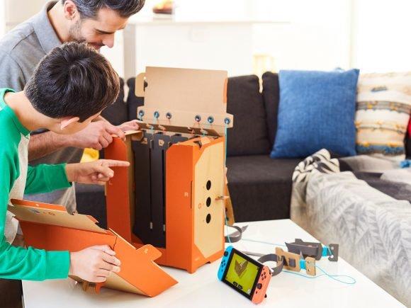 Nintendo Labo Robot Kit (Switch) Review 1