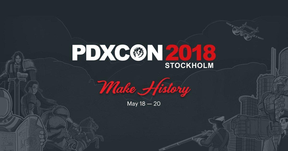 Strategy Games Galore at Paradox Con 2018