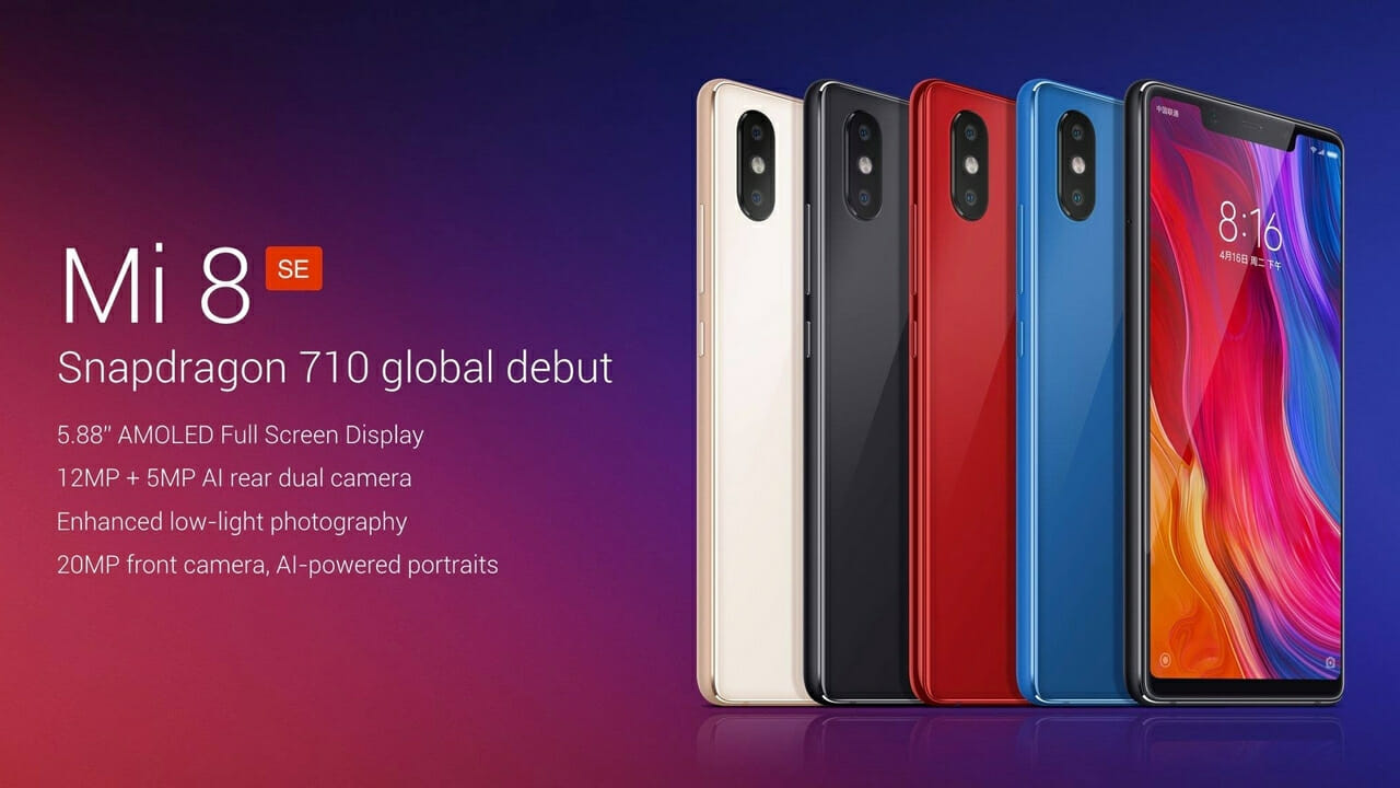 Xiaomi Announces Full Range of Mi 8 Devices 2