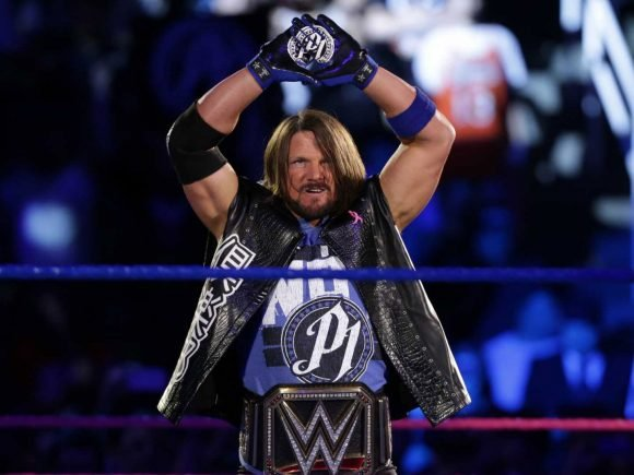 AJ Styles Joins the WWE 2K19 Million Dollar Smackdown 2