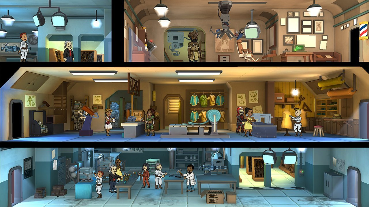 Fallout Shelter (Switch) Review 3