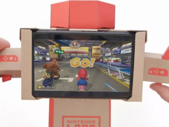 Mario Kart 8 Deluxe Drives Nintendo Labo Forward With New Toy-Con Support 1