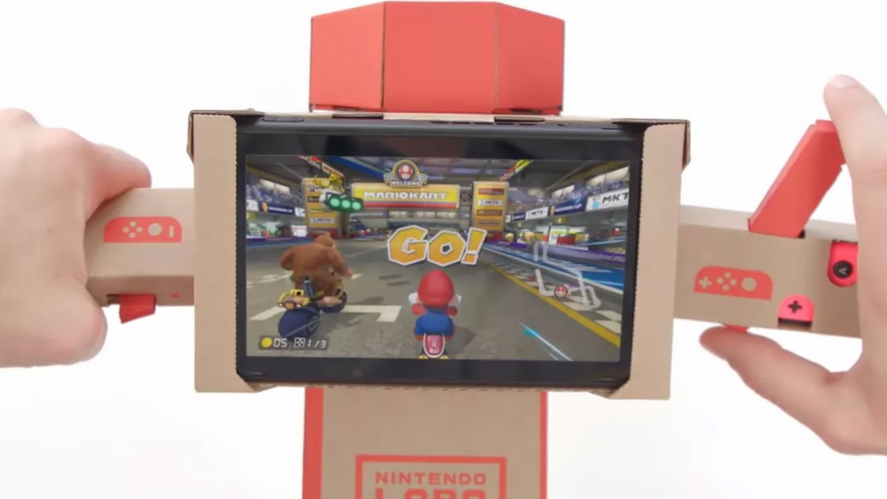 Mario Kart 8 Deluxe Drives Nintendo Labo Forward With New Toy-Con Support 2