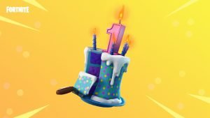 Fortnite's First Birthday Takes the Cake with Exciting New Rewards 1