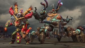 Heroes of the Storm: Warchrome Wastes Puts the Pedal to the Metal