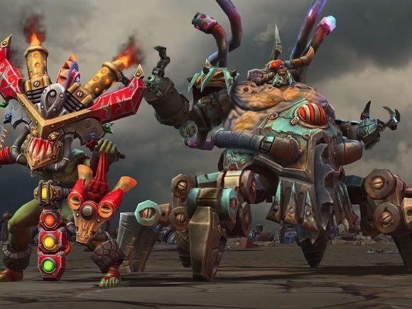 Heroes of the Storm: Warchrome Wastes Puts the Pedal to the Metal 2