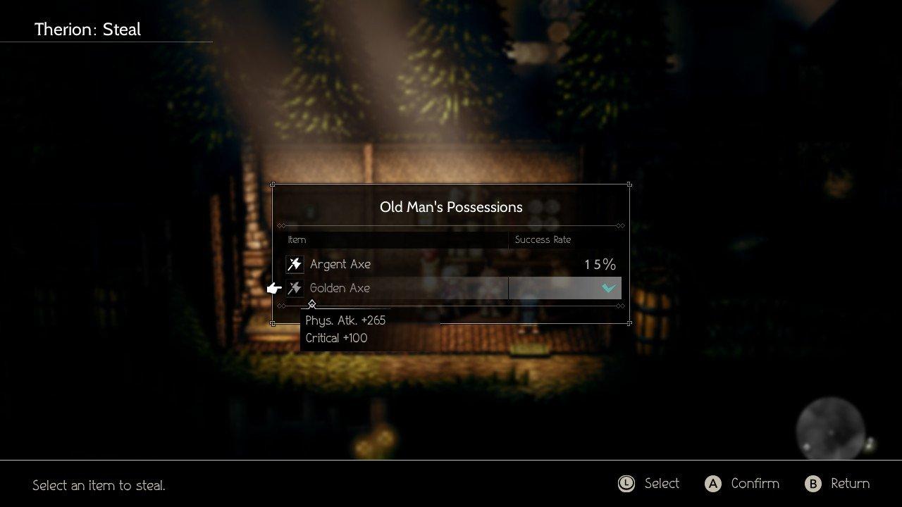 How To Get The Golden Axe In Octopath Traveler 2