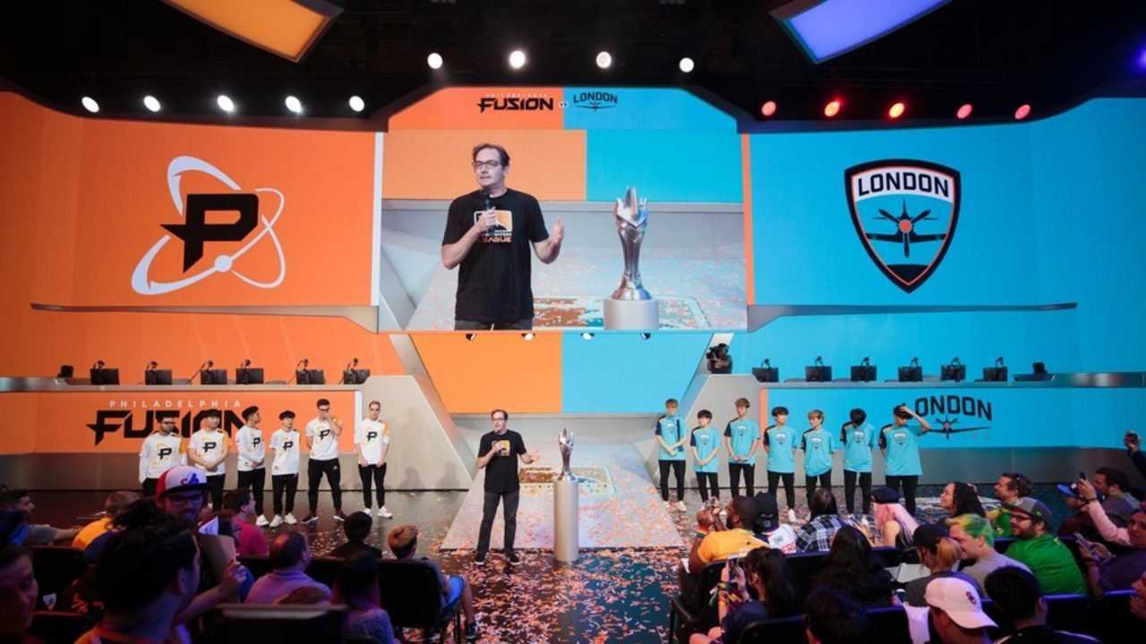 London Spitfire, Philadelphia Fusion Reach Overwatch League Grand Final 2