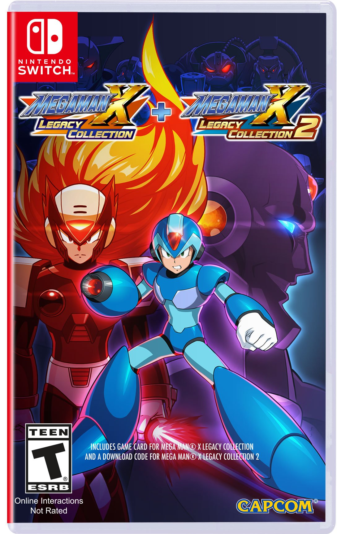 Mega Man X Legacy Collection 1 + 2 (Switch) Review 4
