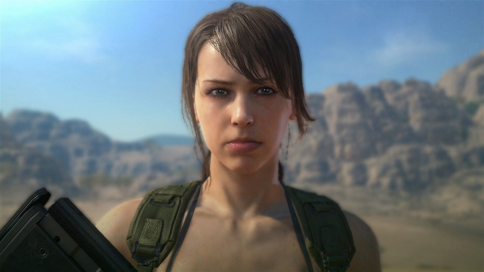 New Metal Gear Solid 5: The Phantom Pain Update Lets You Play As Quiet
