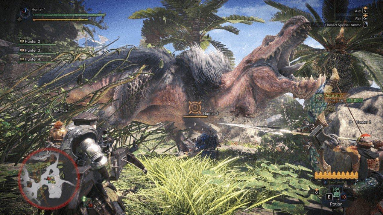 Monster Hunter: World Announces Pc Release Date