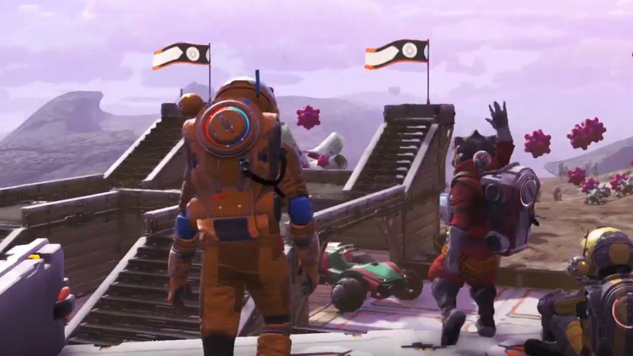 No Man's Sky's NEXT Trailer Features Multiplayer, Visual Overhauls, and More