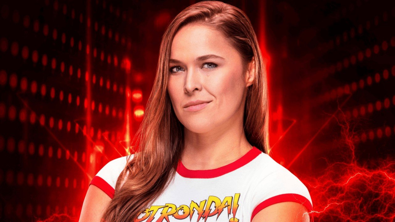 """Rowdy"" Ronda Rousey Gets a Historical Debut in WWE 2K19"