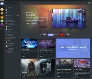 Discord Takes on Steam With Free Games, New Online Store