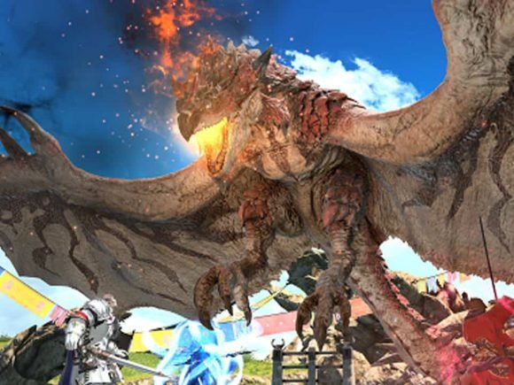 Epic Final Fantasy XIV Online and Monster Hunter: World Collaboration Begins Today