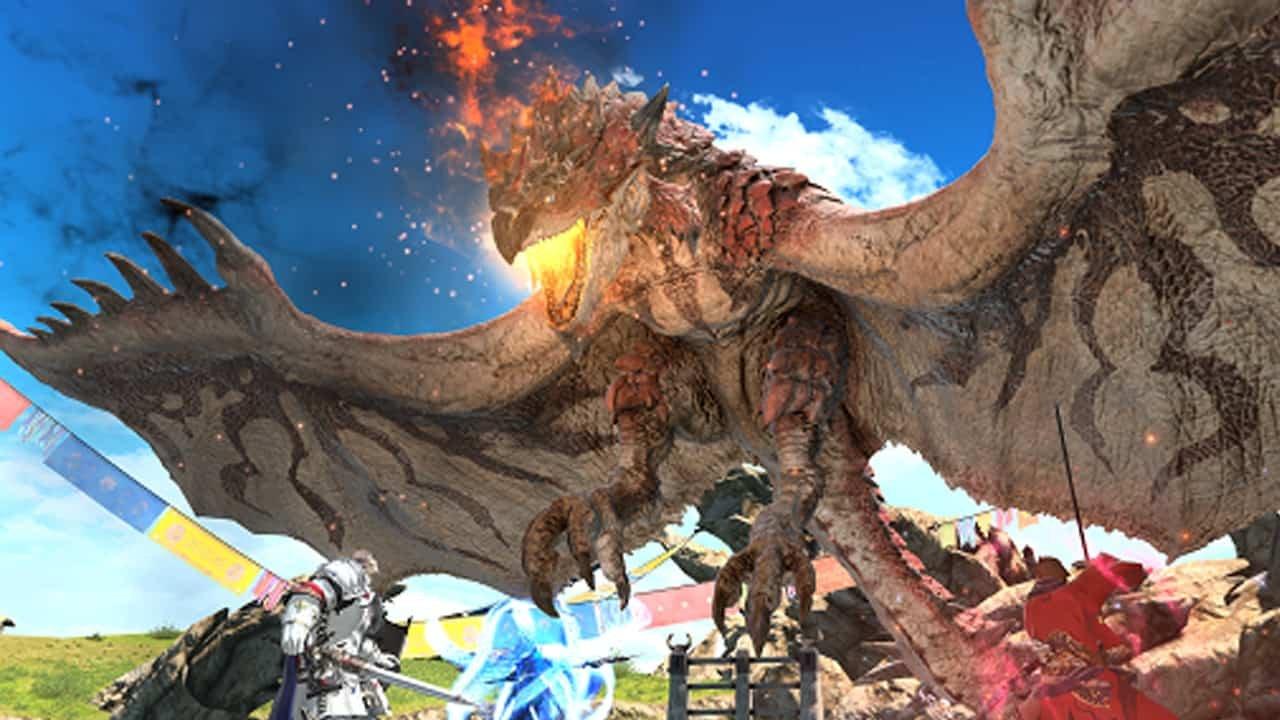 Epic Final Fantasy XIV Online and Monster Hunter: World Collaboration Begins Today