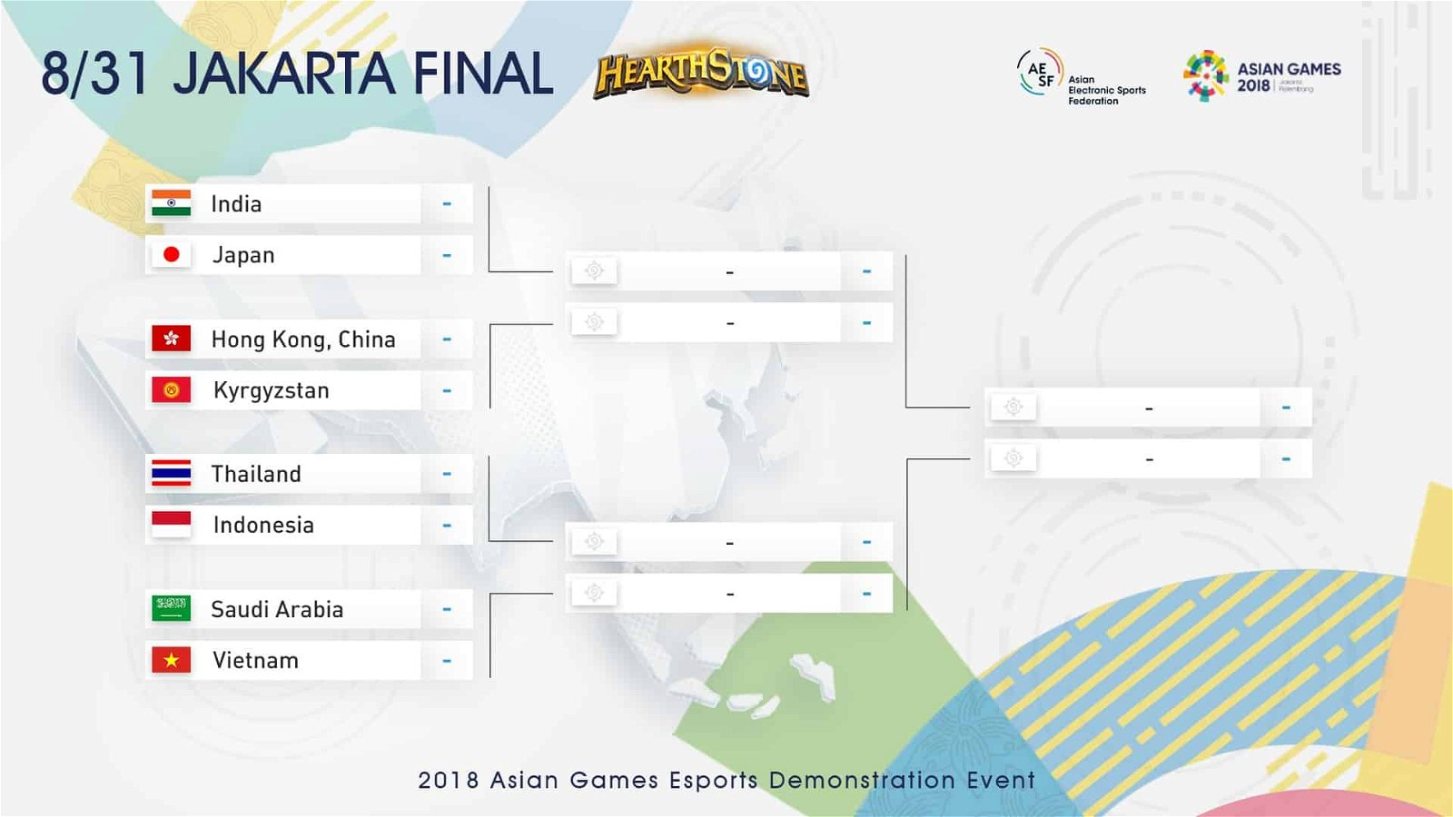 Hearthstone Esports Tournament Makes A Historical Debut At The Asian Games 1