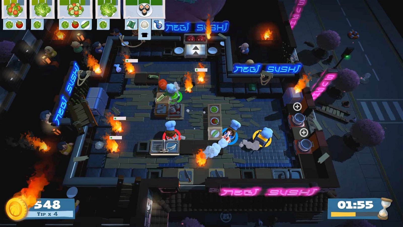 Overcooked! 2 (Nintendo Switch) Review 3