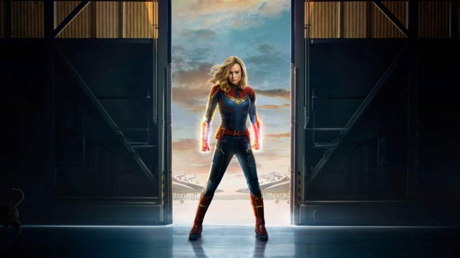 Brie Larson Soars in Captain Marvel Trailer 2