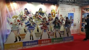 Revue Starlight mobile game advertised at TGS 2018