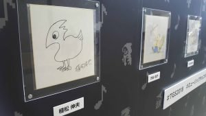 Final Fantasy Creators draw Chocobos at TGS 2018
