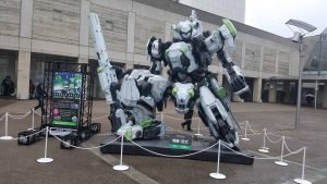Border Break Mech outside TGS 2018