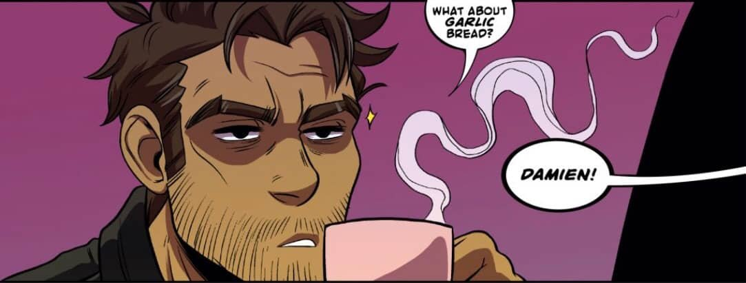 """Dream Daddy """"Let The Right Dad In"""" (Comic) Review 1"""