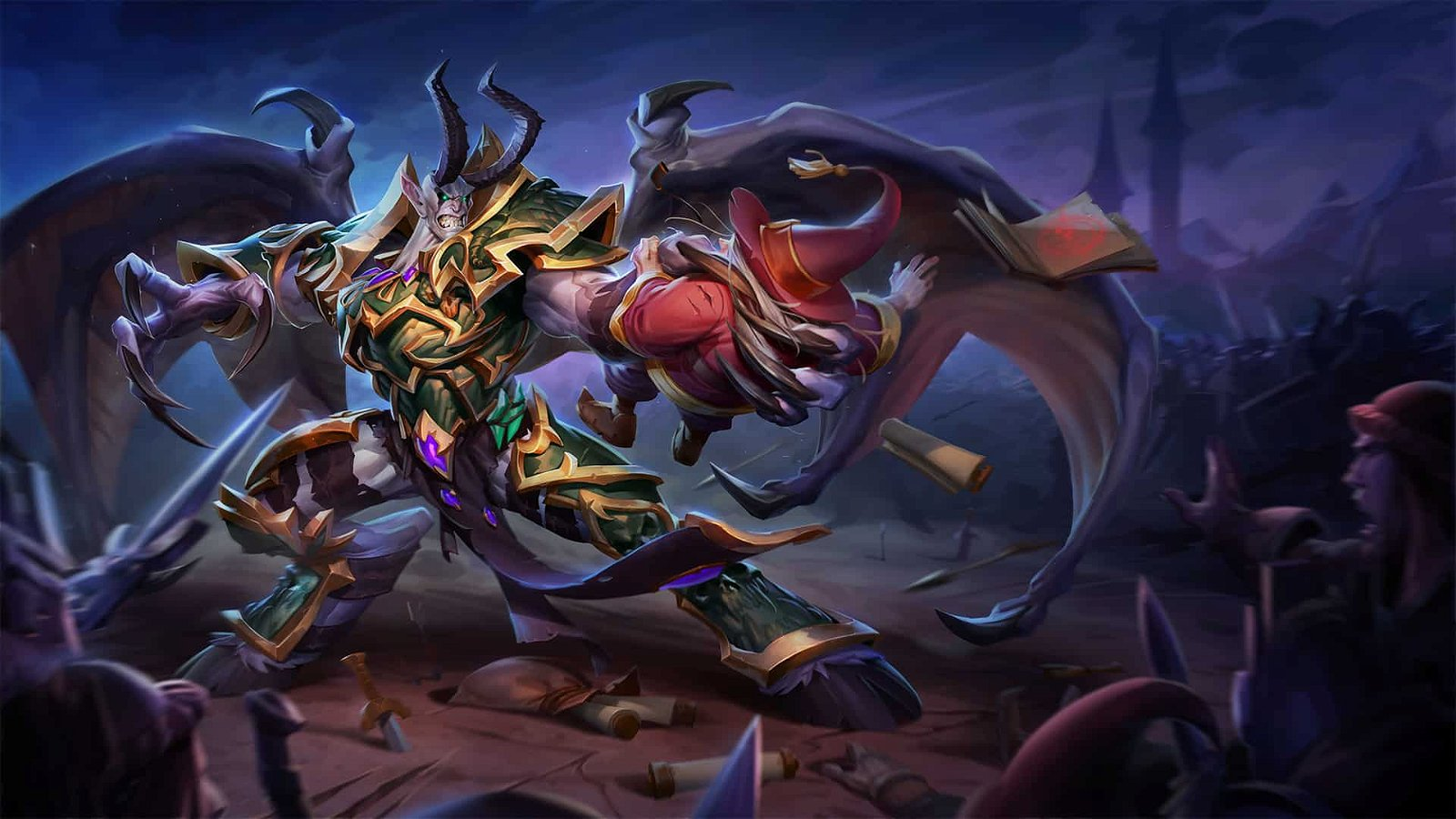 Heroes of the Storm: Dreadlord Mal'Ganis Descends Upon The Nexus 1