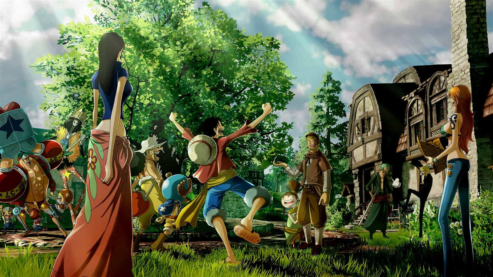 One Piece World Seeker Tokyo Game Show 2018 Preview