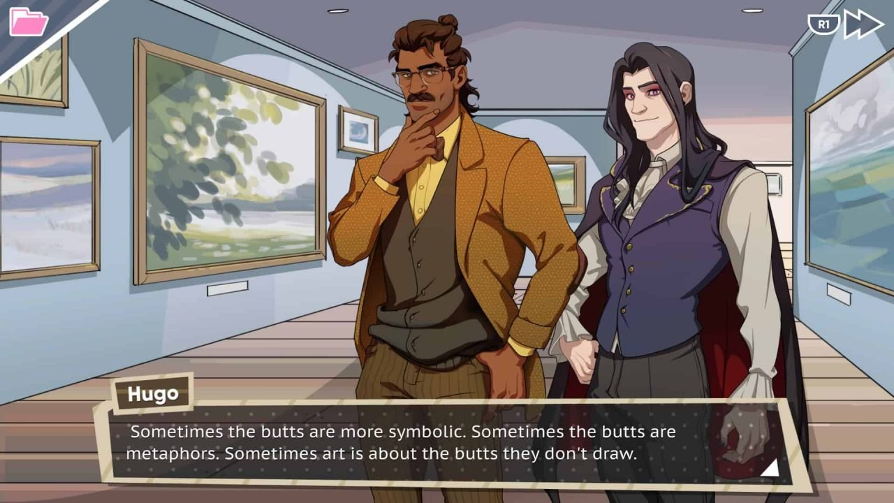Dream Daddy: Dadrector's Cut (Ps4) Mini-Review 2
