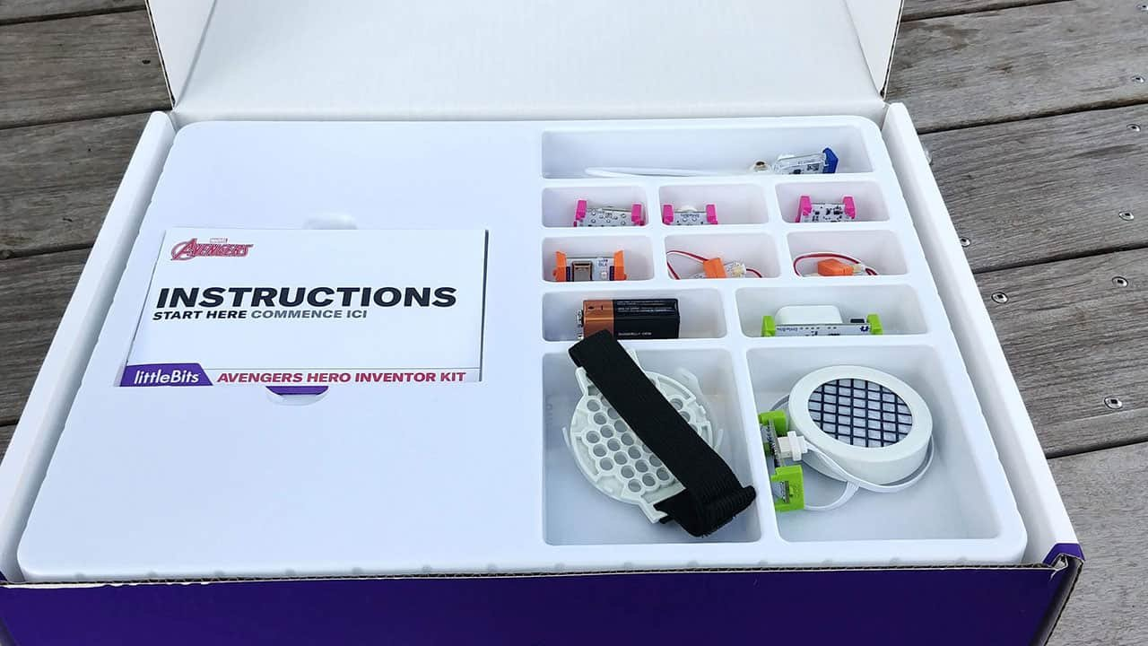 LittleBits Avengers Hero Inventor Kit Review 2
