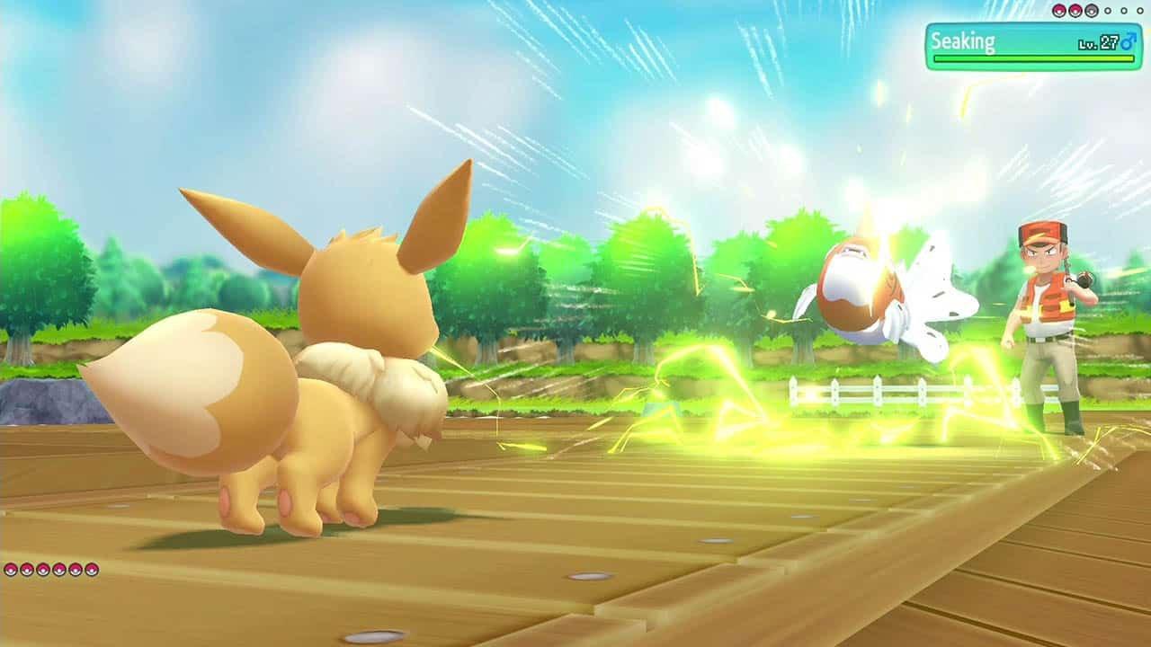 Pokémon Let's Go Eevee (Switch) Review 2