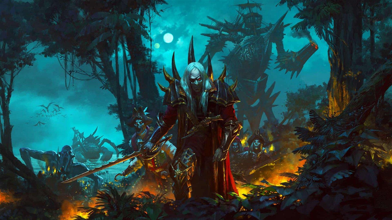 total war warhammer ii curse of the vampire coast an