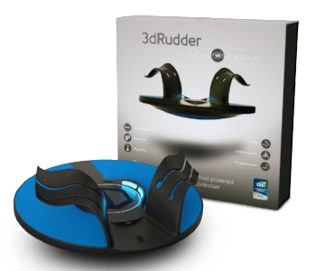 3dRudder New VR Foot Motion Controller Blackhawk Revealed with CES 2018