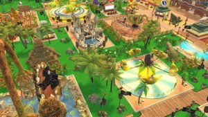 Atari(R) Brings Iconic Theme Park Management Series to Nintendo Switch with Release of RollerCoaster Tycoon(R) Adventures 1